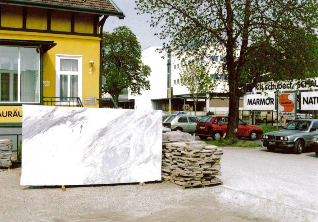 Naturstein Schubert Stone in den 80er Jahren
