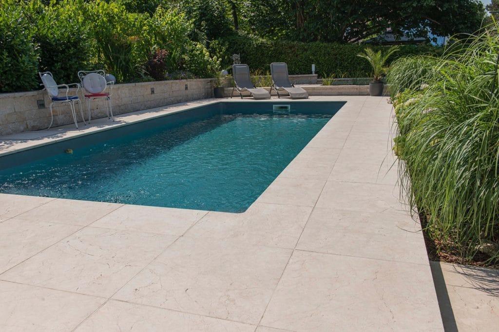 Boden sandgestrahlt 40,6x40,6x3cm