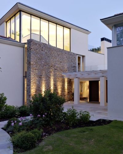 Eingangsbereich der Architektenvilla