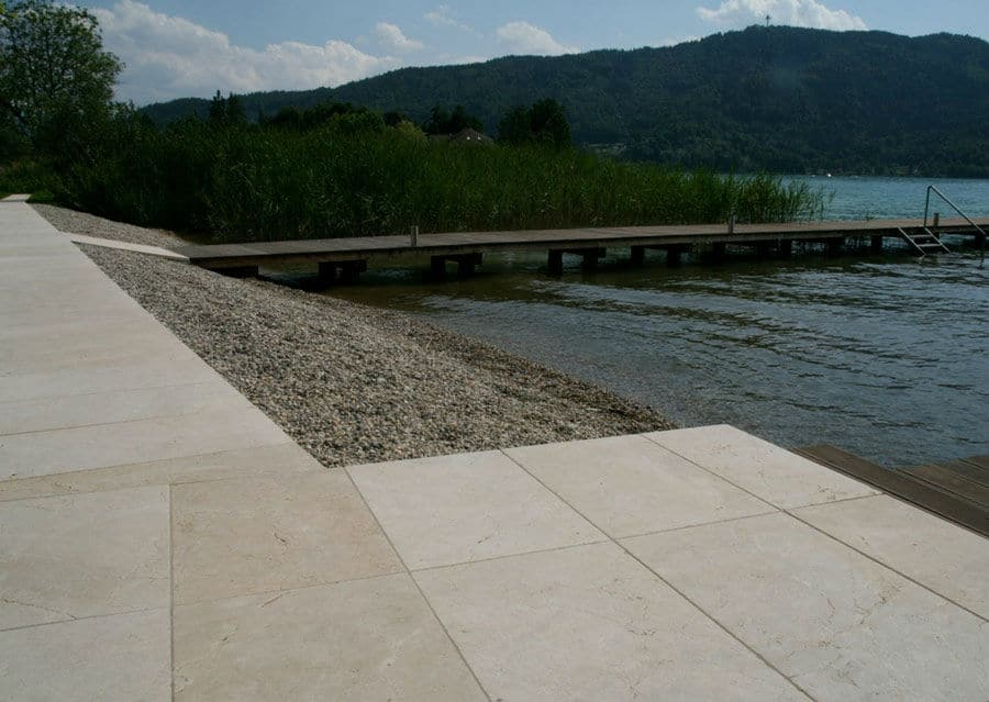Kalkstein Platten