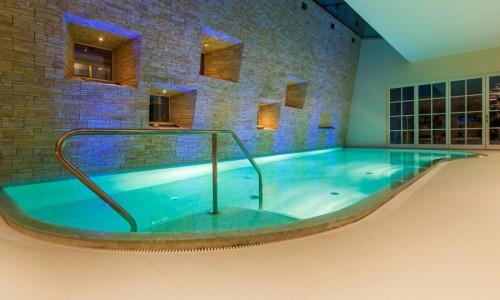 Wellnessbereich in edler Villa