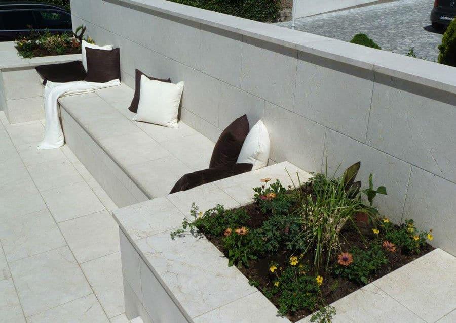 Kalkstein Wand