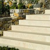 Kalkstein Treppe