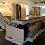 Technosteinausstellung in Wien bei Schubert Stone
