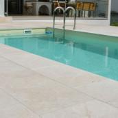 Kalkstein Terrasse Pool