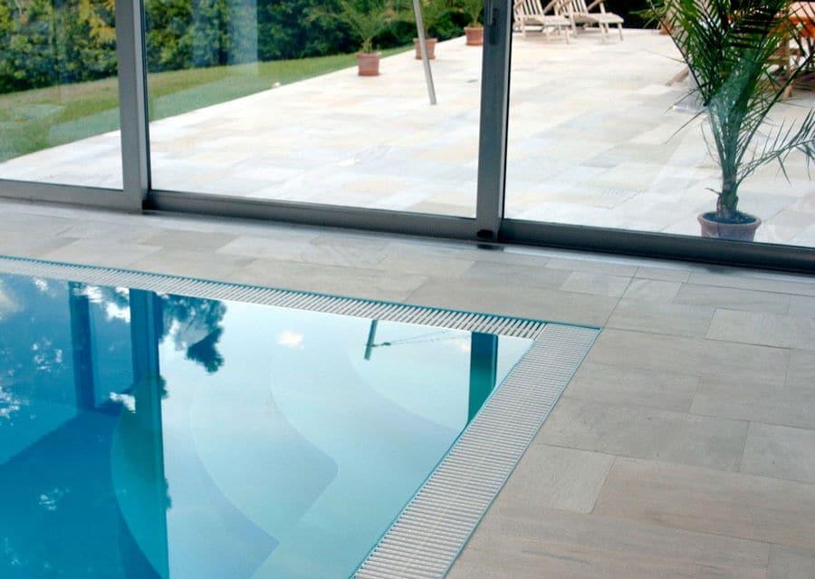 Sandstein Pool Terrasse
