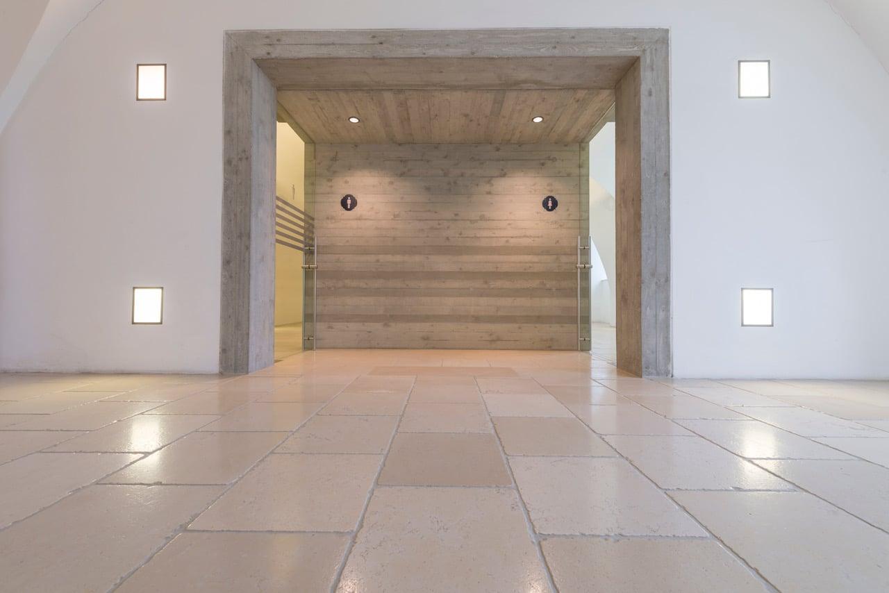 Antiker Kalkstein in Optik von historischen Kelheimer Platten-4
