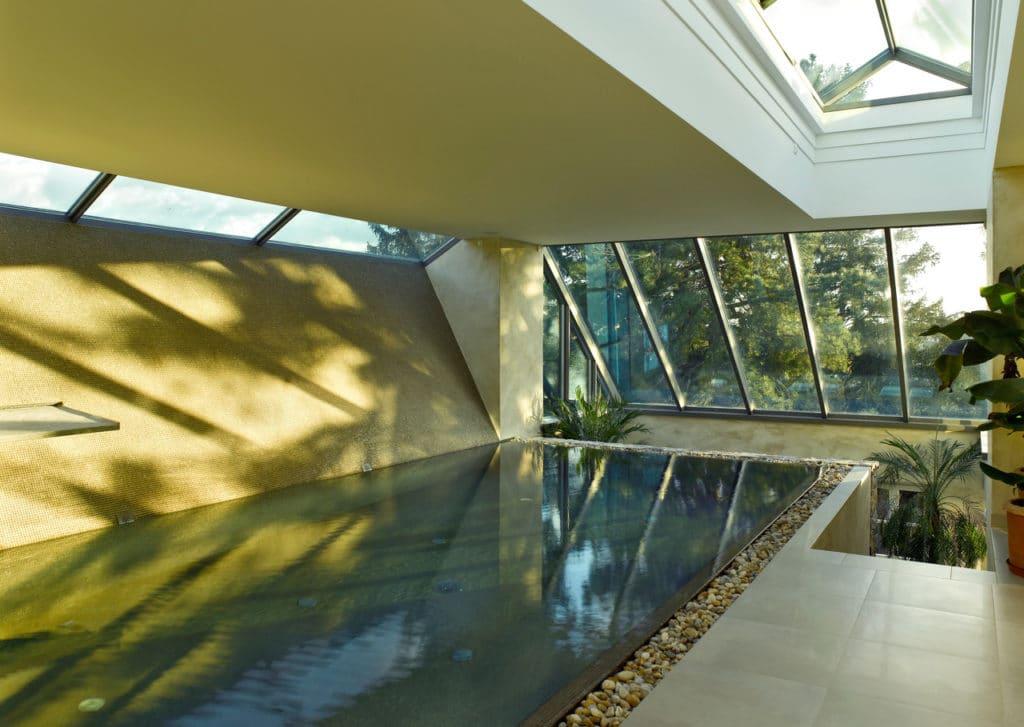 Glasmosaik im Pool