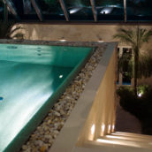 Glasmosaik im Pool -2