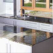 Granit poliert Arbeitsplatte Küche