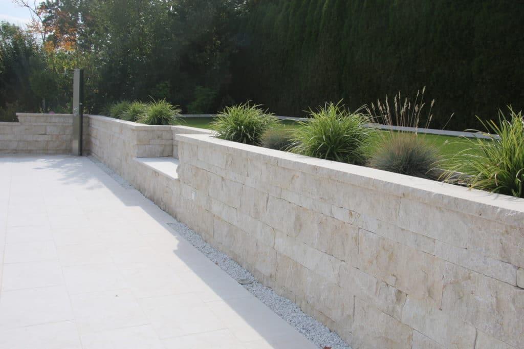Systemmauer Levante Crema – 1