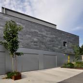 Naturstein Fassade Schiefer