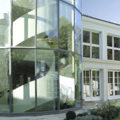 Kalkstein Villa Fassade