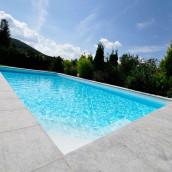 Beckenrandsteine Marmor Pool