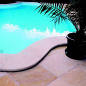 Beckenrandsteine Sandstein Pool