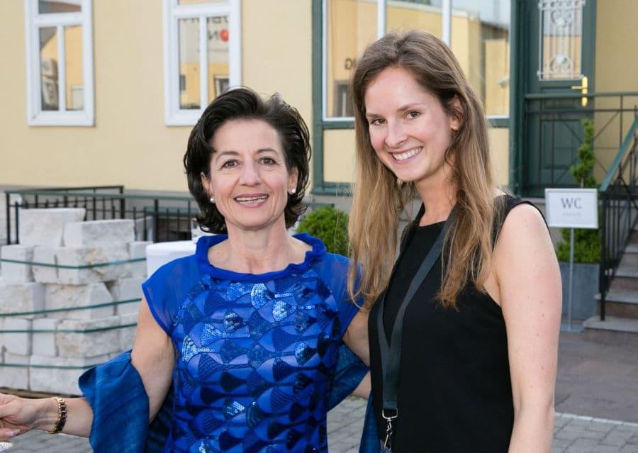 Ingrid Amon im Steinzentrum in Wien