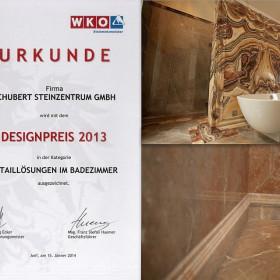 , DESIGNPREIS 2013 in drei Kategorien erhalten