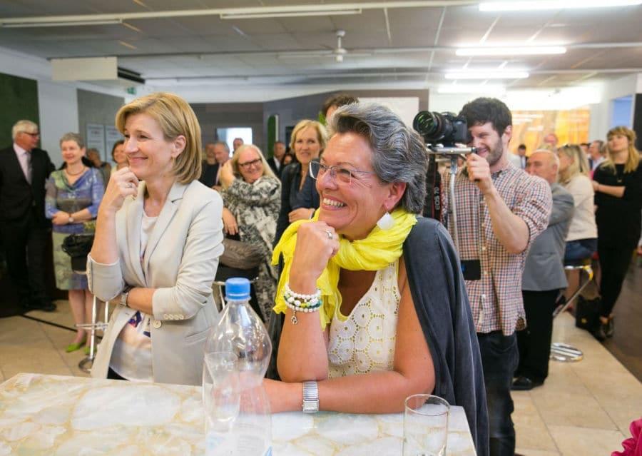 Ingrid Amon im Steinzentrum in Wien 4