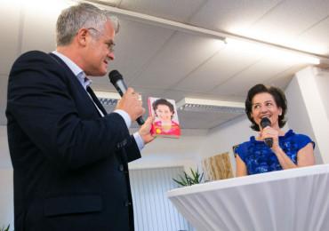 Ingrid Amon im Steinzentrum in Wien 5