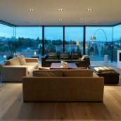 Eiche Landhausdiele Wohnzimmer