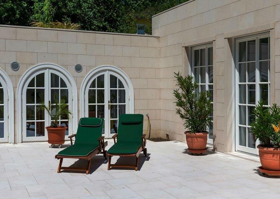 Fassaden aus Naturstein