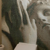 Glas Mosaik Bild