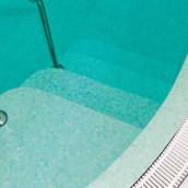 Mosaik Treppen im Pool