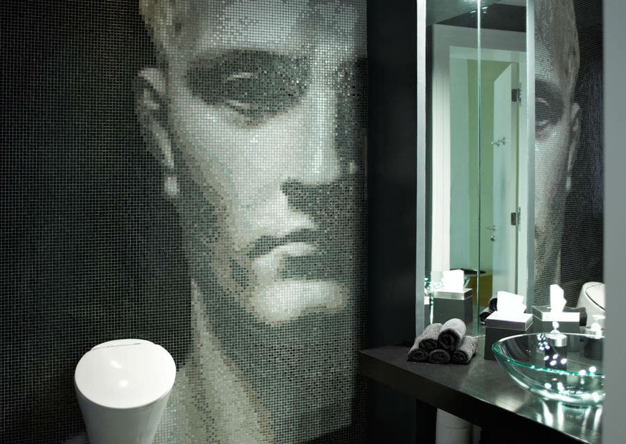 Bild in Luxusbad