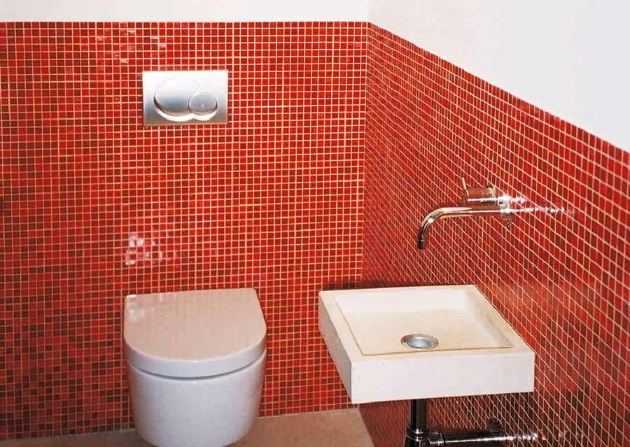 WC Glasmosaik
