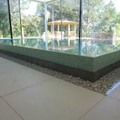 Wellnessbereich Glasmosaik