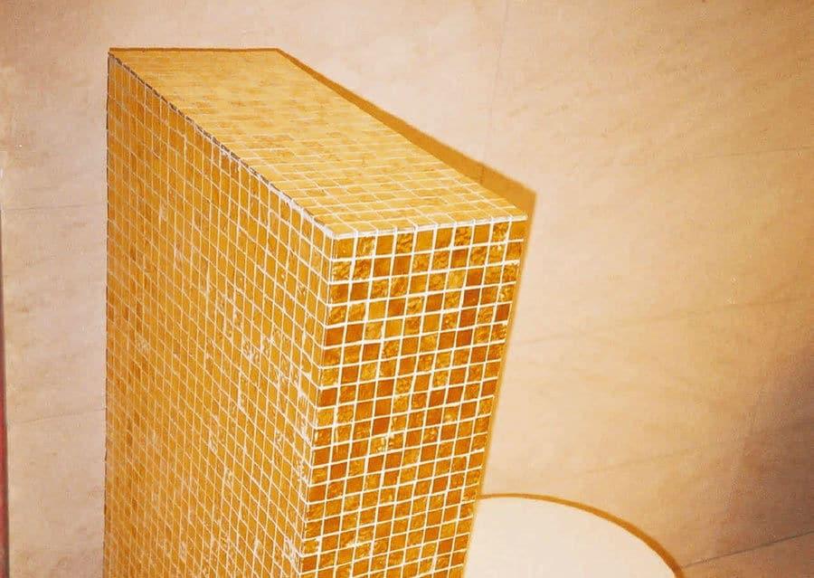 Goldmosaik Badezimmer
