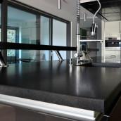 Granit Küche Arbeitsplatte matt