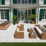Klassische Villa Terrasse