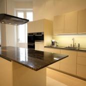 Küche Steinplatten