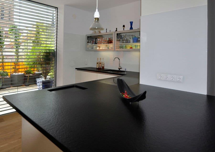 Arbeitsplatte Küche Schwarz
