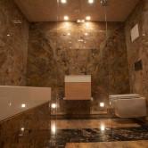 Luxubad mit WC