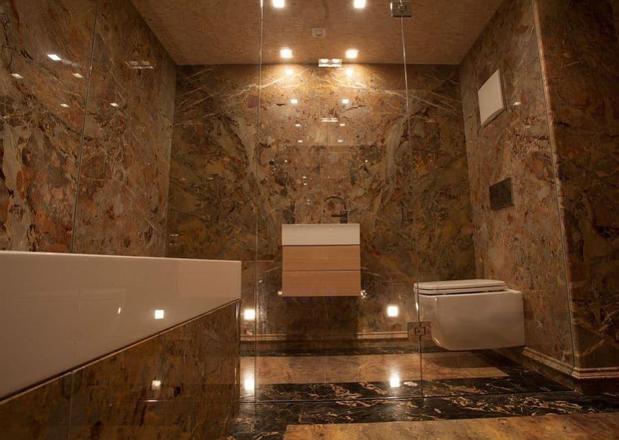 ... Luxus Badezimmer Mit Dampfkammer · Luxubad Mit WC ...