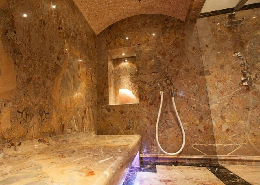 Luxusdampfbad Marmor