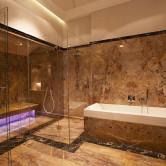 Italienischer Marmor Badezimmer