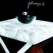Luxusbäder Bergkristall Waschbereich