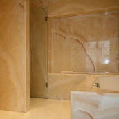 Luxusbäder Grossplatte Boden Wand