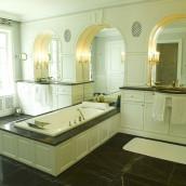 Luxusbäder Kalkstein antrazit