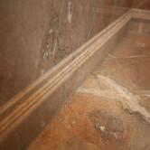 Marmor Boden und Wand