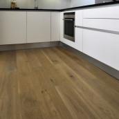 Massivholzparkett Eiche Küche