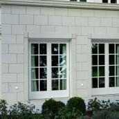 Naturstein Fassade Haus Kalkstein