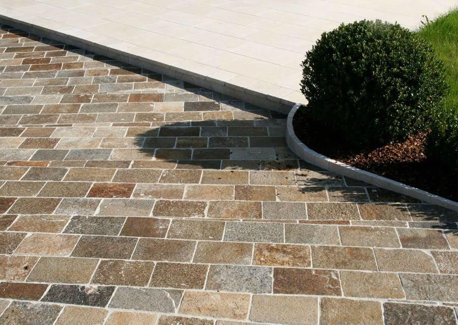 Pflastersteine schubert stone naturstein for Natursteine garten