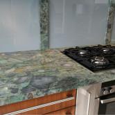 Stein Küchenarbeitsplatte