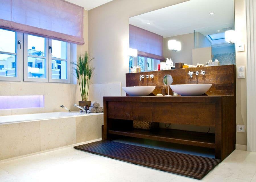 Luxusbad aus Naturstein