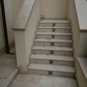 Steintreppen aussen Stufenplatten