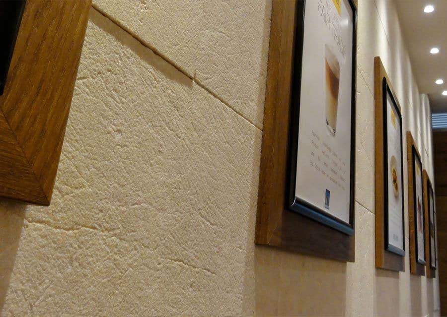 Wandplatten Kalkstein